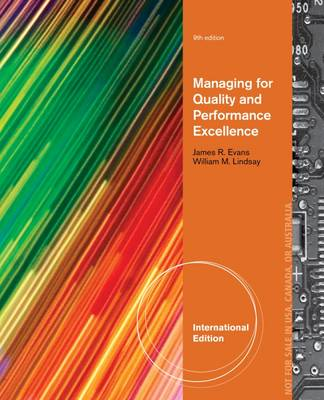 Managing for Quality and Performance Excellence - Evans, James R.