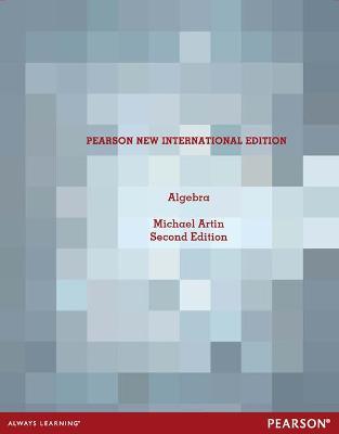 Algebra - Artin, Michael