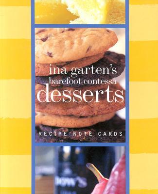 Barefoot Contessa Dessert Recipes Signature Vertical Note Cards - Garten, Ina