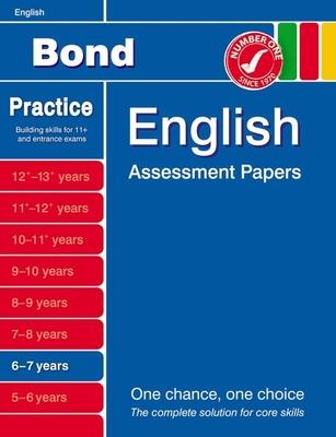 Bond English Assessment Papers 6-7 Years - Lindsay, Sarah