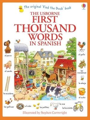 First Thousand Words in Spanish - Amery, Heather