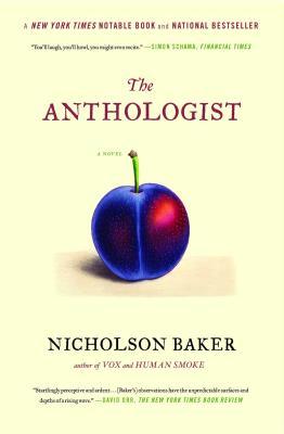 The Anthologist - Baker, Nicholson