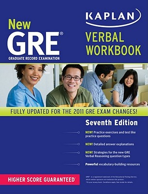 New GRE Verbal Workbook - Kaplan