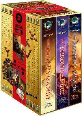 The Kane Chronicles Hardcover Boxed Set - Riordan, Rick