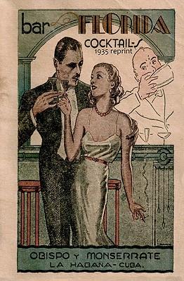 Bar La Florida Cocktails 1935 Reprint - Bolton, Ross