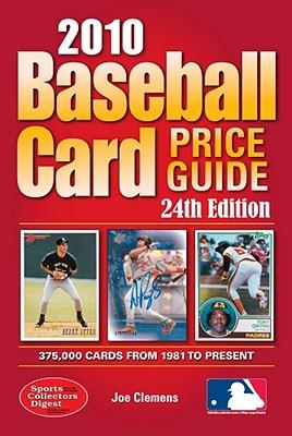 Baseball Card Price Guide - Clemens, Joe