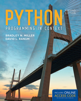 Python Programming in Context - Miller, Bradley N, and Ranum, David L
