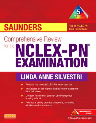 Saunders Comprehensive Review for the NCLEX-PN Examination - Silvestri, Linda Anne