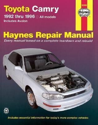Toyota Camry 1992-1996 - Haynes Manuals, and Maddox, Robert, and Haynes, John