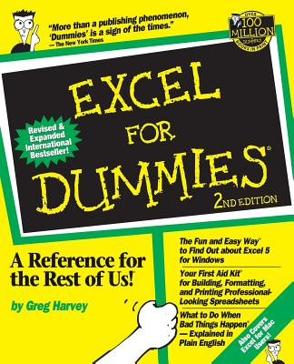 Excel for Dummies - Harvey, Greg, and Blake, and Harvey