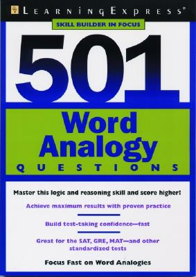 501 Word Analogy Questions - Learning Express LLC (Creator)