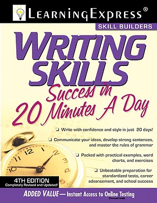 Writing Skills Success in 20 Minutes a Day - Olson, Judith F, and Learning Express LLC