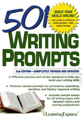 501 Writing Prompts - LearningExpress LLC (Creator)