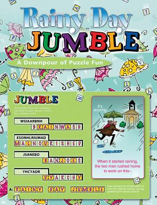 Rainy Day Jumble: A Downpour of Puzzle Fun - Arnold, Henri, and Lee, Bob, and Argirion, Mike
