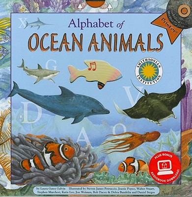 Alphabet of Ocean Animals - Galvin, Laura G