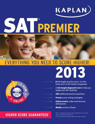 Kaplan SAT Premier - Staff of Kaplan Test Prep and Admissions