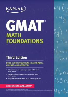 Kaplan GMAT Math Foundations - Staff of Kaplan Test Prep (Creator)