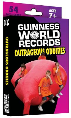 Guinness World Records Outrageous Oddities Learning Cards - Guinness World Records