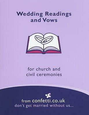 Wedding Readings and Vows - Confetti.co.uk