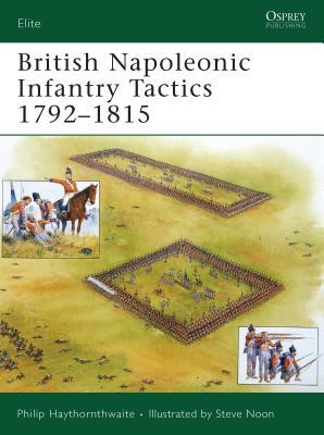 British Napoleonic Infantry Tactics 1792-1815 - Haythornthwaite, Philip