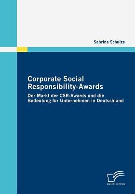 Corporate Social Responsibility-Awards - Schulze, Sabrina