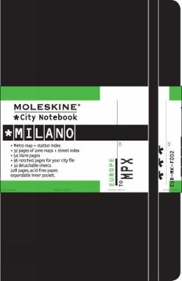 Moleskine City Notebook Milano - Moleskine (Creator)