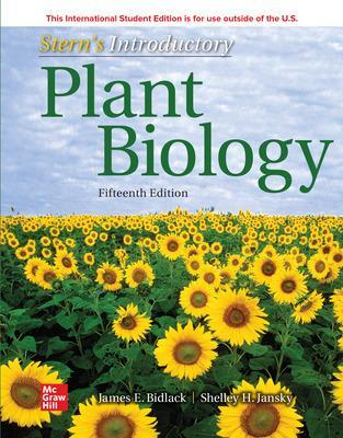 ISE Stern's Introductory Plant Biology - Bidlack, James, and Jansky, Shelley, and Stern, Kingsley