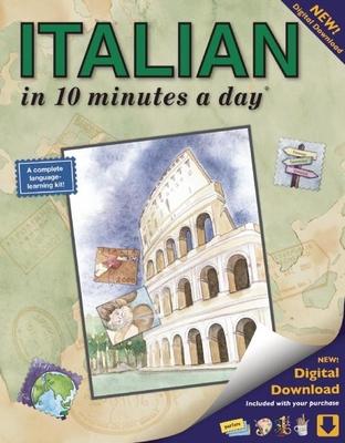 Italian in 10 Minutes a Day - Kershul, Kristine K, M.A.