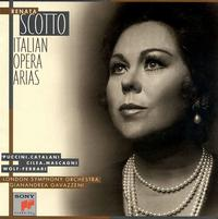 Italian Opera Arias - Renata Scotto (vocals); Renato Bruson (baritone); Yelena Obraztsova (mezzo-soprano); Schola Cantorum of New York (choir, chorus)