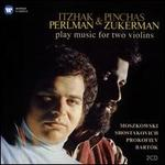 Itzhak Perlman & Pinchas Zukerman play music for two violins