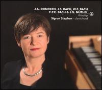 J.A. Reincken, J.S. Bach, W.F. Bach, C.P.E. Bach & J.G. Müthel: Kinship - Sigrun Stephan (harpsichord)