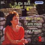 J.C. Bach: Vauxhall Songs