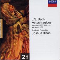 J.S. Bach: Actus tragicus - Cantatas BWV 106, 131, 99, 56, 82 & 158 - Allan Fast (counter tenor); Ann Monoyios (soprano); Bach Ensemble; Edmund Brownless (tenor); Frank Kelly (tenor);...
