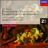 J.S. Bach: Brandenburg Concertos 1-6 - Anthony Randall (horn); Carmel Kaine (violin); Christopher Hogwood (continuo); David Mason (trumpet);...
