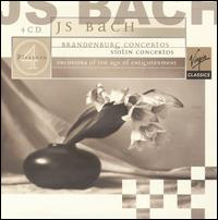 J.S. Bach: Brandenburg Concertos - Alison Bury (violin); Catherine Mackintosh (violin piccolo); Catherine Mackintosh (violin); Elizabeth Wallfisch (violin);...