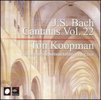 J.S. Bach: Cantatas, Vol. 22 - Alfredo Bernardini (oboe); Bogna Bartosz (alto); Christoph Prégardien (tenor); James Gilchrist (tenor);...
