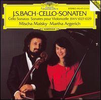 J.S. Bach: Cello-Sonaten BWV 1027-1029 - Martha Argerich (piano); Mirella Noack-Rofena (mirella); Mischa Maisky (cello)