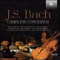 J.S. Bach: Complete Concertos - Albert Bruggen (cello); Amsterdam Bach Soloists; Andrea Mion (oboe); Andrius Puskunigis (oboe);...