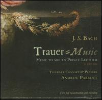 J.S. Bach: Trauer-Music (Music to Mourn Prince Leopold) - Carys Lane (soprano); Christopher Watson (tenor); Giles Underwood (bass); Jean Paterson (violin); Natanya Hadda (alto);...