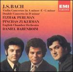 J.S. Bach: Violin Concertos in A minor, E, G minor; Double Concerto in D minor