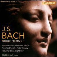 J.S. Bach: Weimar Cantatas 2 - Anthony Robson (oboe); Benedict Hoffnung (tympani [timpani]); Charles Daniels (tenor); David Blackadder (trumpet);...