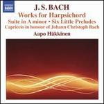 J.S. Bach: Works for Harpsichord