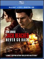 Jack Reacher: Never Go Back [Includes Digital Copy] [Blu-ray/DVD] - Edward Zwick
