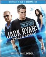 Jack Ryan: Shadow Recruit [2 Discs] [Includes Digital Copy] [Blu-ray/DVD] - Kenneth Branagh