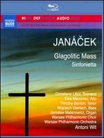 Janácek: Glagolitic Mass; Sinfonietta [Blu-Ray Audio]