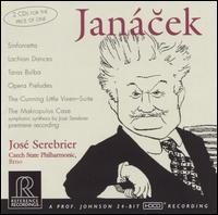 Janácek: Orchestral Works - Czech State Philharmonic Orchestra (Brno); José Serebrier (conductor)