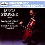 Janos Starker plays Boccherini, Bach, Vivaldi, Corelli, Locatelli & Valentini