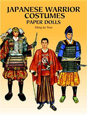 Japanese Warrior Costumes Paper Dolls - Sun, Ming-Ju, and Paper Dolls