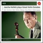 Jascha Heifetz Plays Great Violin Sonatas [CD 1-4 of 9]