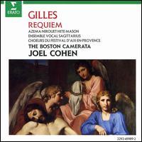 Jean Gilles: Requiem - Anne Azéma (soprano); Arthur Hock (violin); Carla Moore (violin); Carol Lewis (viola da gamba); Cleland K. Earle (violin);...